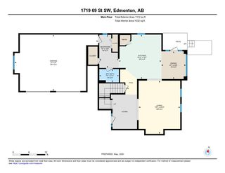 Photo 45: 1719 69 Street SW in Edmonton: Zone 53 House for sale : MLS®# E4198055