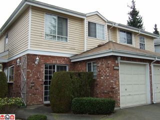 "Photo 1: 126 12233 92ND Avenue in Surrey: Queen Mary Park Surrey Townhouse for sale in ""ORCHARD LAKE"" : MLS®# F1007573"