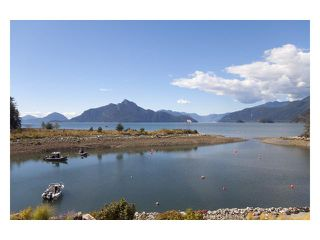 """Main Photo: 43 POINT Terrace in West Vancouver: Furry Creek Townhouse for sale in """"OLIVER'S LANDING"""" : MLS®# V848517"""