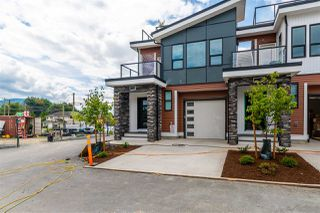 "Main Photo: 7 7140 MAITLAND Avenue in Chilliwack: Sardis West Vedder Rd Townhouse for sale in ""Cascara Village"" (Sardis)  : MLS®# R2450802"