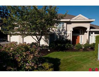 """Photo 1: 13905 25A Avenue in Surrey: Elgin Chantrell House for sale in """"PENINSULA PARK"""" (South Surrey White Rock)  : MLS®# F2920509"""