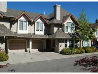 "Photo 1: 53 23085 118TH Avenue in Maple Ridge: East Central Townhouse for sale in ""SOMMERVILLE GARDENS"" : MLS®# V856233"