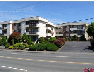 "Photo 1: 202 32885 GEORGE FERGUSON Way in Abbotsford: Central Abbotsford Condo for sale in ""Fairview Manor"" : MLS®# F2821729"