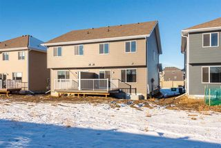 Photo 26: 559 Ebbers Way in Edmonton: Zone 02 House Half Duplex for sale : MLS®# E4180643