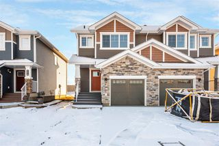 Photo 24: 559 Ebbers Way in Edmonton: Zone 02 House Half Duplex for sale : MLS®# E4180643