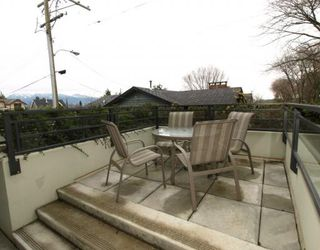 "Photo 8: 101 3595 W 18TH Avenue in Vancouver: Dunbar Townhouse for sale in ""DUKE ON DUNBAR"" (Vancouver West)  : MLS®# V751304"