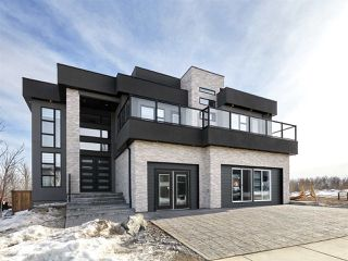 Photo 1: 4115 Whispering River Drive in Edmonton: Zone 56 House for sale : MLS®# E4202570