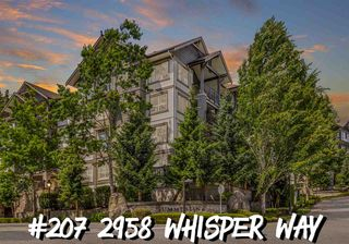 "Main Photo: 207 2958 WHISPER Way in Coquitlam: Westwood Plateau Condo for sale in ""SUMMERLIN"" : MLS®# R2478207"