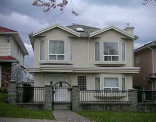 Photo 1: 3081 E 5TH AV in Vancouver: Renfrew VE House for sale (Vancouver East)  : MLS®# V582552