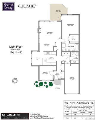 Photo 19: 43 909 Admirals Rd in Esquimalt: Es Esquimalt Row/Townhouse for sale : MLS®# 839509
