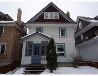 Photo 1: 183 CHESTNUT Street in WINNIPEG: West End / Wolseley Residential for sale (West Winnipeg)  : MLS®# 2903337