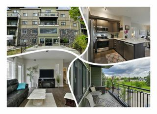 Photo 1: 323 560 GRIESBACH Parade in Edmonton: Zone 27 Condo for sale : MLS®# E4203984