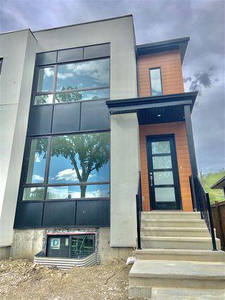 Main Photo: 10828 67 Avenue in Edmonton: Zone 15 House Half Duplex for sale : MLS®# E4205983