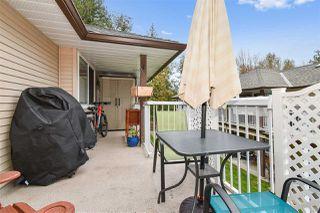 "Photo 18: 308 1750 MCKENZIE Road in Abbotsford: Central Abbotsford Townhouse for sale in ""ALDERGLEN"" : MLS®# R2513360"