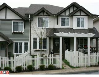 "Photo 1: 14 4401 BLAUSON Boulevard in Abbotsford: Abbotsford East Townhouse for sale in ""THE SAGE"" : MLS®# F1003125"