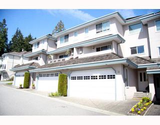 "Photo 1: 38 2990 PANORAMA Drive in Coquitlam: Westwood Plateau Townhouse for sale in ""WESBROOK VILLAGE"" : MLS®# V768307"