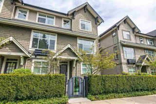 "Photo 1: 734 ORWELL Street in North Vancouver: Lynnmour Townhouse for sale in ""Wedgewood by Polygon"" : MLS®# R2409884"