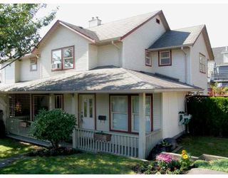 Photo 1: 212 MARMONT Street in Coquitlam: Maillardville House 1/2 Duplex for sale : MLS®# V786525