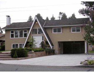 "Main Photo: 1474 53A Street in Tsawwassen: Cliff Drive House for sale in ""TSAWWASSEN HEIGHTS"" : MLS®# V787308"