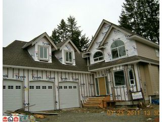Main Photo: 32633 UNGER Court in Mission: Mission BC House for sale : MLS®# F1102353