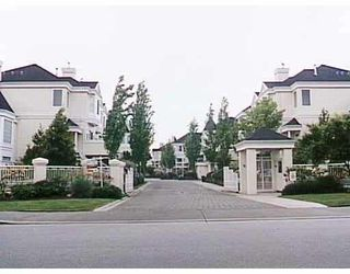 "Photo 1: 47 12411 JACK BELL Drive in Richmond: East Cambie Townhouse for sale in ""FRANCISCO VILLAGE"" : MLS®# V775490"
