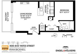 Photo 19: 408 845 Yates St in : Vi Downtown Condo Apartment for sale (Victoria)  : MLS®# 850500