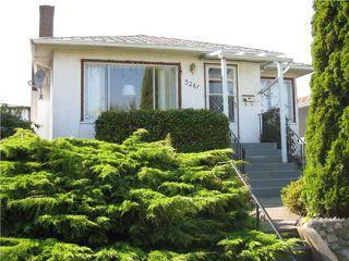 "Photo 1: 3261 RUPERT Street in Vancouver: Renfrew Heights House for sale in """"REFREW HEIGHTS"""" (Vancouver East)  : MLS®# V846946"