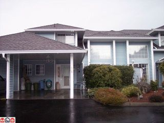 "Photo 1: 86 34959 OLD CLAYBURN Road in Abbotsford: Abbotsford East Townhouse for sale in ""CROWN POINT VILLAS"" : MLS®# F1101099"