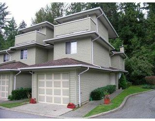 """Photo 1: 107 1386 LINCOLN Drive in Port_Coquitlam: Oxford Heights Townhouse for sale in """"MOUNTAIN PARK VILLAGE"""" (Port Coquitlam)  : MLS®# V730209"""