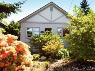 Photo 1: 1315 Balmoral Rd in VICTORIA: Vi Fernwood House for sale (Victoria)  : MLS®# 504233