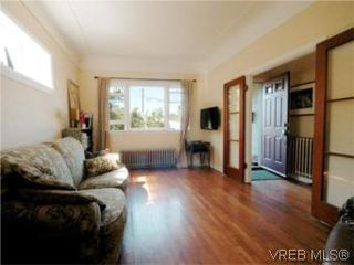 Photo 3: 1315 Balmoral Rd in VICTORIA: Vi Fernwood House for sale (Victoria)  : MLS®# 504233