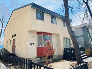 Photo 1: 209 Langside Street in Winnipeg: West Broadway Residential for sale (5A)  : MLS®# 202009154