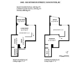"""Photo 24: 1002 933 SEYMOUR Street in Vancouver: Downtown VW Condo for sale in """"The Spot"""" (Vancouver West)  : MLS®# R2489308"""