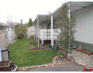 "Photo 9: 184 3665 244TH Street in Langley: Otter District Manufactured Home for sale in ""LANGLEY GROVE ESTATES"" : MLS®# F1003706"