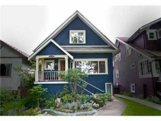 Photo 1: 823 W 20TH Avenue in Vancouver: Cambie House for sale (Vancouver West)  : MLS®# V851816
