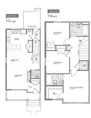 Photo 2: 667 LEWIS GREENS DRIVE in Edmonton: Zone 58 House Half Duplex for sale : MLS®# E4218517