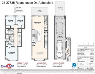 """Photo 34: 24 27735 ROUNDHOUSE Drive in Abbotsford: Aberdeen Townhouse for sale in """"ROUNDHOUSE"""" : MLS®# R2516679"""