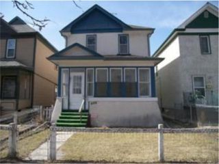 Photo 1: 488 Simcoe Street in WINNIPEG: West End / Wolseley Residential for sale (West Winnipeg)  : MLS®# 1006364
