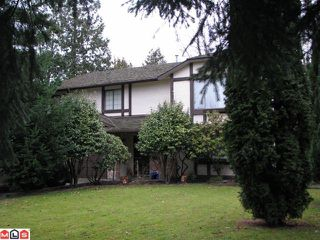 Photo 1: 2072 BOWLER Drive in Surrey: King George Corridor House for sale (South Surrey White Rock)  : MLS®# F1029150