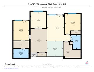 Photo 28: 514 5151 Windermere Boulevard in Edmonton: Zone 56 Condo for sale : MLS®# E4197065