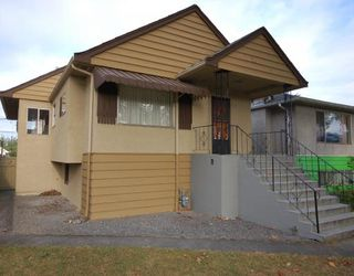Main Photo: 4769 FLEMING Street in Vancouver: Knight House for sale (Vancouver East)  : MLS®# V786315