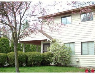 """Photo 1: 1 33853 MARSHALL Road in Abbotsford: Central Abbotsford Townhouse for sale in """"Appletree Court"""" : MLS®# F2820675"""