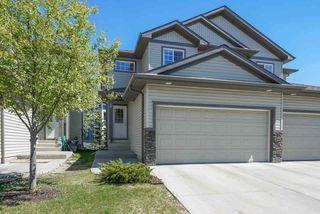 Photo 1: 19 16003 132 Street in Edmonton: Zone 27 House Half Duplex for sale : MLS®# E4170757