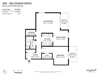 """Photo 27: 403 385 GINGER Drive in New Westminster: Fraserview NW Condo for sale in """"Fraser Mews"""" : MLS®# R2525909"""