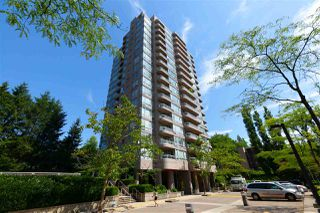 "Photo 1: 1507 9633 MANCHESTER Drive in Burnaby: Cariboo Condo for sale in ""STRATHMORE TOWERS"" (Burnaby North)  : MLS®# R2399464"