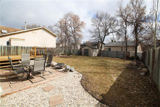 Photo 29: 135 Williamson Crescent in Winnipeg: Harbour View South Residential for sale (3J)  : MLS®# 202007780
