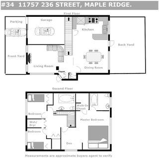 "Photo 2: 34 11757 236 Street in Maple Ridge: Cottonwood MR Townhouse for sale in ""GALIANO"" : MLS®# R2472636"
