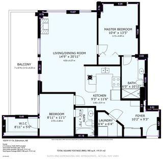 Photo 23: 508 10319 111 Street in Edmonton: Zone 12 Condo for sale : MLS®# E4223639