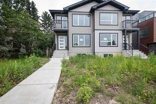 Photo 1: 9325 Connors Road NW in Edmonton: Zone 18 House Half Duplex for sale : MLS®# E4177468