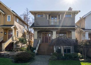 "Main Photo: 3540 W 5TH Avenue in Vancouver: Kitsilano Townhouse for sale in ""KITSILANO"" (Vancouver West)  : MLS®# R2442717"
